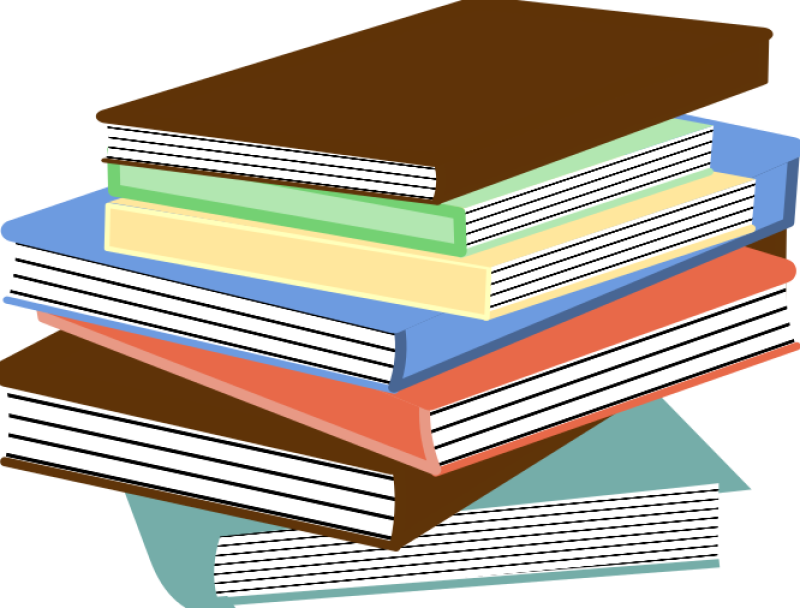 Stack Of Books 01 Clipart png free, Stack Of Books 01 transparent png