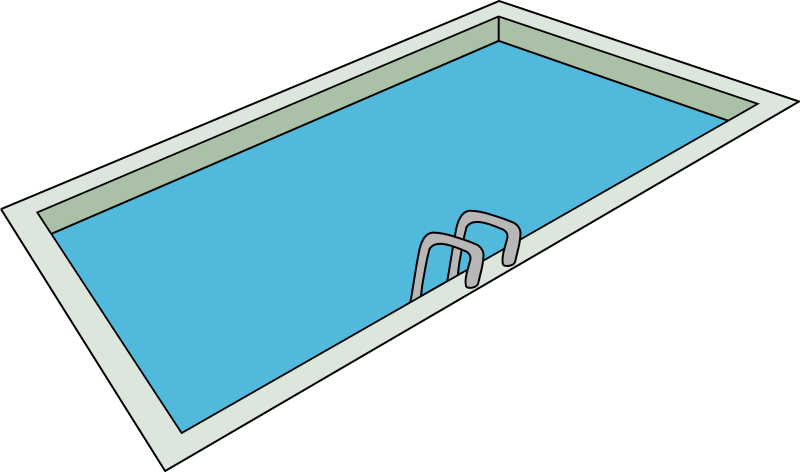 Swimming Pool Clipart png free, Swimming Pool transparent png