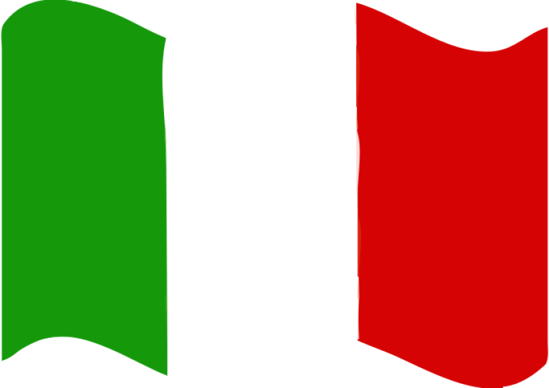 Flag Of Italy Clipart png free, Flag Of Italy transparent png