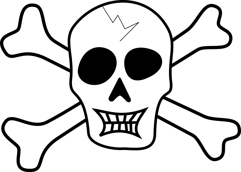Pirate Skull Clipart png free, Pirate Skull transparent png