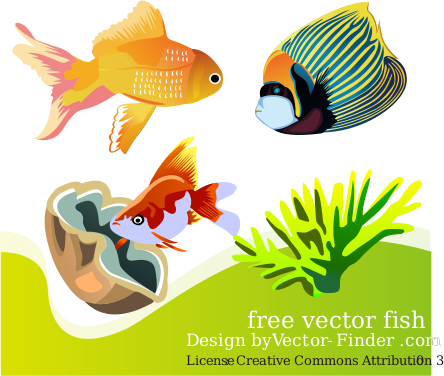 Free Vector Fish Clipart png free, Free Vector Fish transparent png