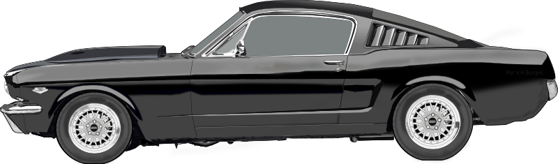 Ford Mustang Clipart png free, Ford Mustang transparent png