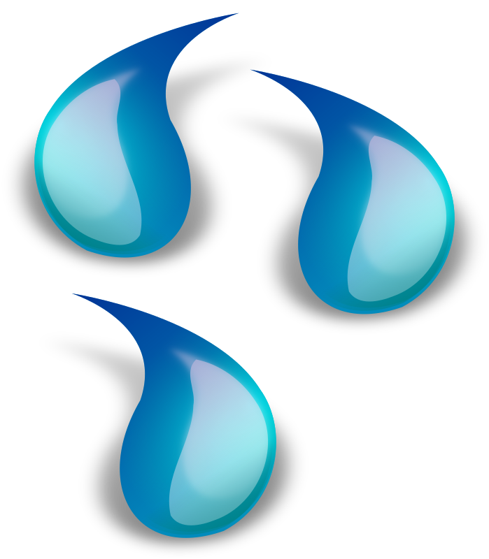 Water Drop 1 Clipart png free, Water Drop 1 transparent png