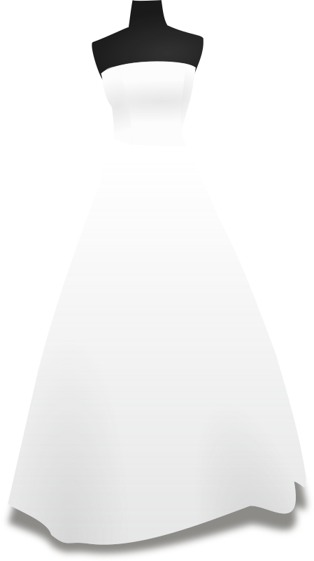 Wedding Dresses Clipart png free, Wedding Dresses transparent png