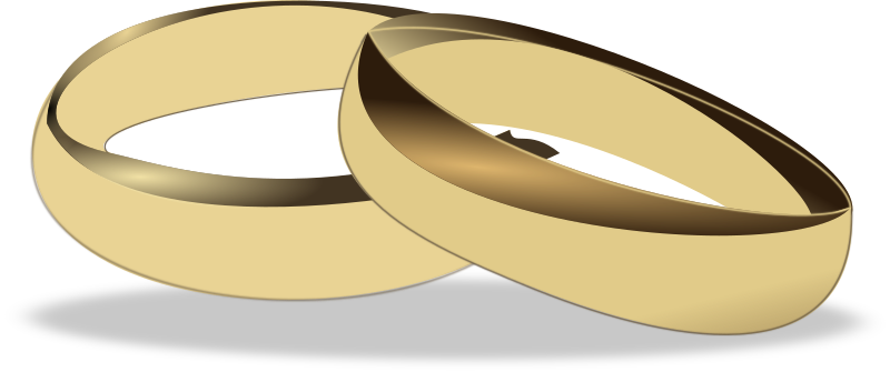 Wedding Rings Clipart png free, Wedding Rings transparent png