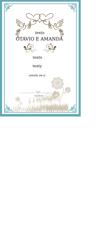 Wedding Invite Clipart png free, Wedding Invite transparent png
