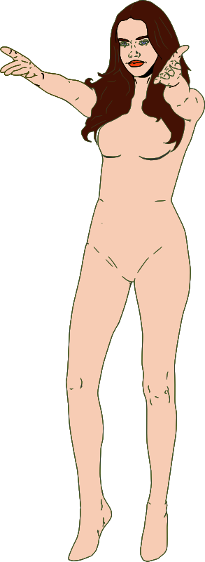 Woman Pose 1 Clipart png free, Woman Pose 1 transparent png