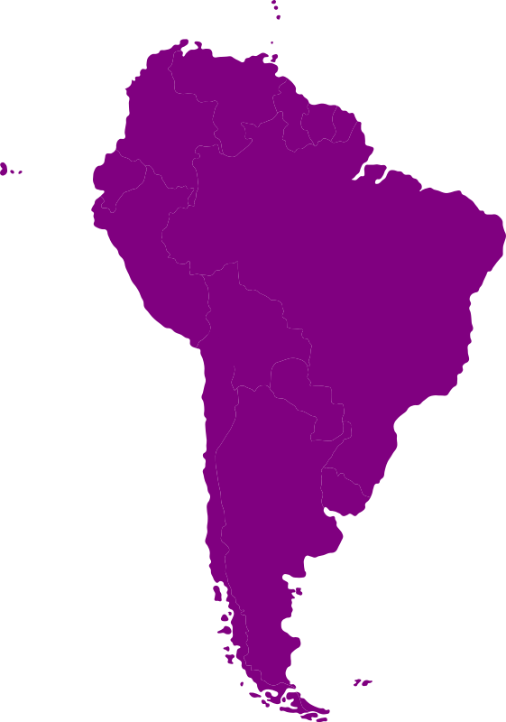 South-American Continent Clipart png free, South-American Continent transparent png
